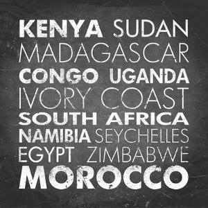 African Countries by Veruca Salt