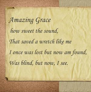 Amazing Grace Parchment by Veruca Salt