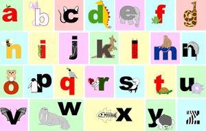 Animal Alphabet by Veruca Salt