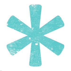 Aqua Asterisk by Veruca Salt