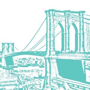 Aqua Brooklyn Bridge by Veruca Salt