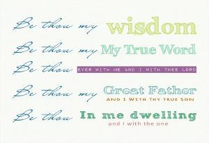 Be Thou My - white by Veruca Salt