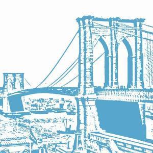Blue Brooklyn Bridge by Veruca Salt