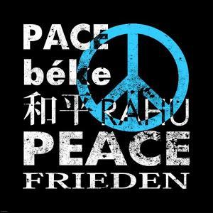 Blue Peace Square II by Veruca Salt