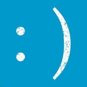 Blue Smiley by Veruca Salt