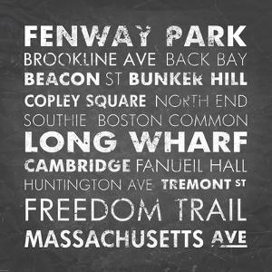 Boston Cities by Veruca Salt