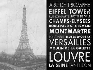 Eiffel Tower Paris by Veruca Salt