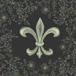 Fleur de Lis - Black by Veruca Salt