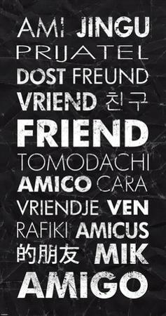 Friend in Different Languages