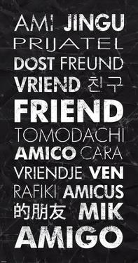 Friend in Different Languages by Veruca Salt