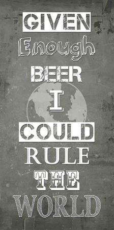 Given Enough Beer by Veruca Salt