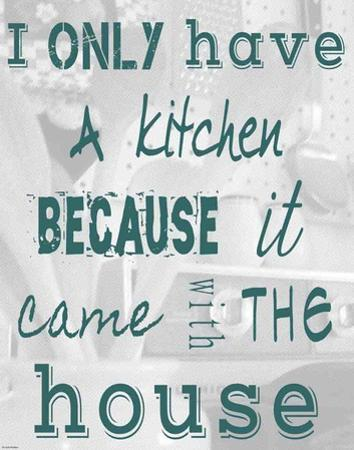 I Only Have a Kitchen Because it Came With the House by Veruca Salt