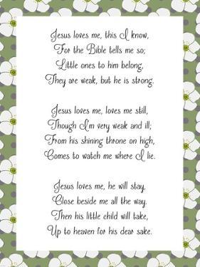 Jesus Loves Me by Veruca Salt