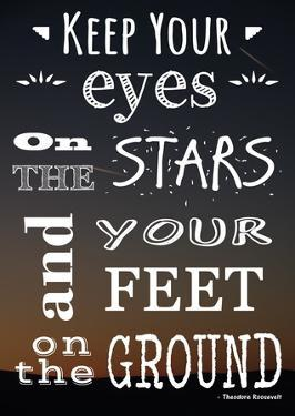 Keep Your Eyes On the Stars- Theodore Roosevelt by Veruca Salt