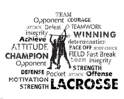 Lacrosse Text by Veruca Salt