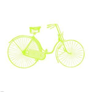 Lime On White Bicycle by Veruca Salt