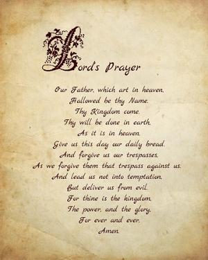 Lord's Prayer by Veruca Salt