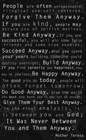 Affordable Mother Teresa Quotes Posters For Sale At Allposters Com