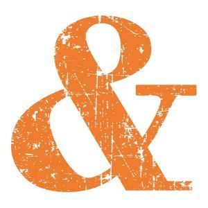 Orange Ampersand by Veruca Salt