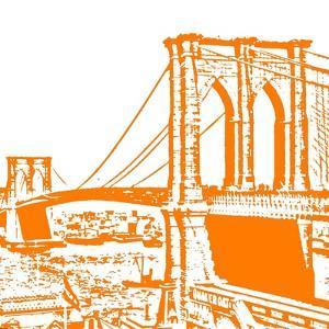 Orange Brooklyn Bridge by Veruca Salt