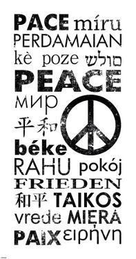 Peace in Different Languages by Veruca Salt