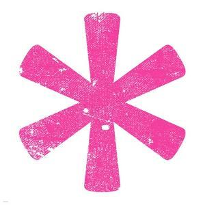 Pink Asterisk by Veruca Salt