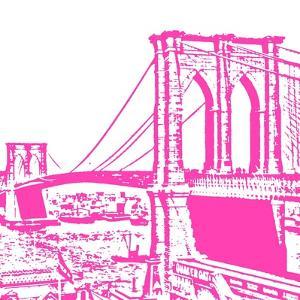 Pink Brooklyn Bridge by Veruca Salt