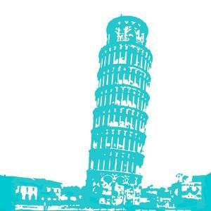 Pisa in Aqua by Veruca Salt
