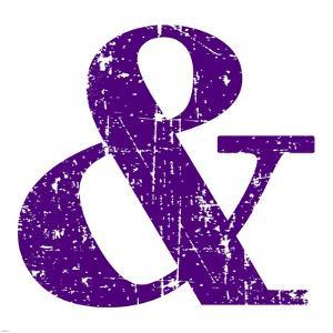 Purple Ampersand by Veruca Salt
