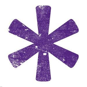 Purple Asterisk by Veruca Salt