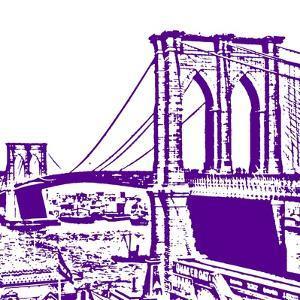 Purple Brooklyn Bridge by Veruca Salt