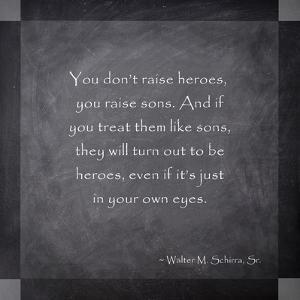 Raising a Hero by Veruca Salt