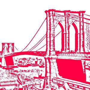 Red Brooklyn Bridge by Veruca Salt