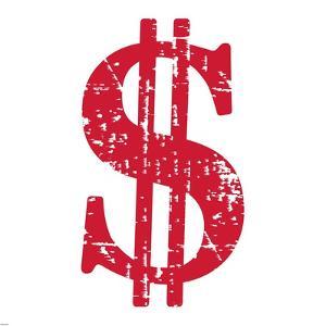 Red Dollar Sign by Veruca Salt