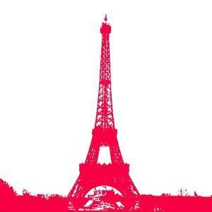 Red Eiffel Tower by Veruca Salt