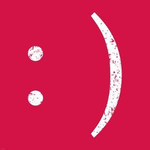 Red Smiley by Veruca Salt