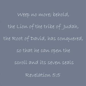 Revelation 5:5 by Veruca Salt