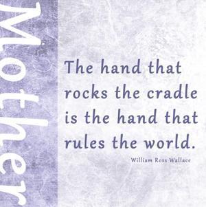 The Hand that Rocks the Cradle by Veruca Salt