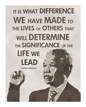 The Life We Lead - Nelson Mandela by Veruca Salt