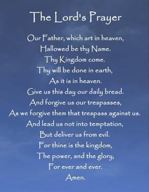The Lord's Prayer - Blue Sky by Veruca Salt
