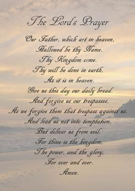 The Lord's Prayer - Sunset by Veruca Salt