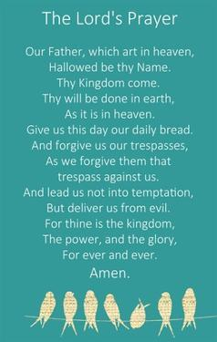 The Lord's Prayer by Veruca Salt
