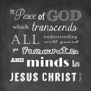 The Peace of God - black by Veruca Salt