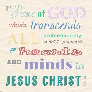 The Peace of God by Veruca Salt