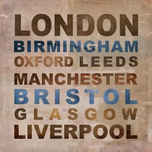 United Kingdom Cities I by Veruca Salt