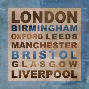 United Kingdom Cities II by Veruca Salt