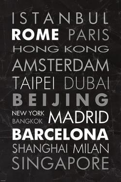 World Cities II by Veruca Salt