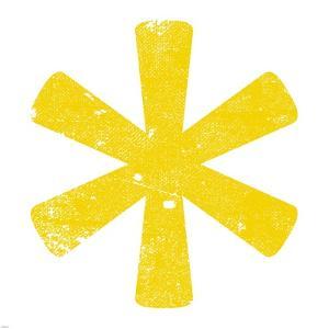 Yellow Asterisk by Veruca Salt