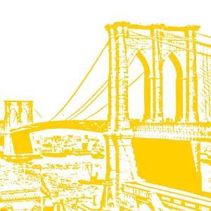 Yellow Brooklyn Bridge by Veruca Salt