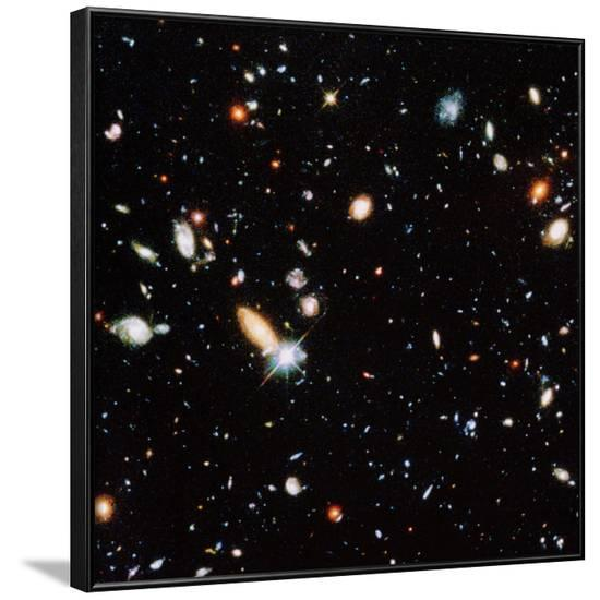 Very Distant Galaxies--Framed Photographic Print